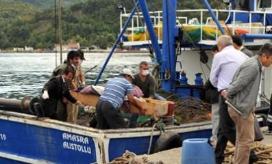 Gardiyan'ın cesedi balıkçı ağına takıldı