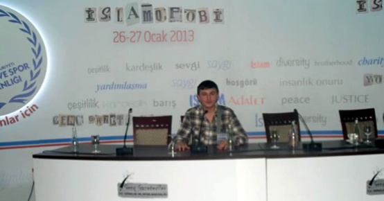 Genç gazeteci barış elçisi oluyor