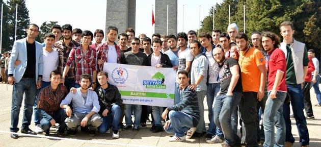 Genç Seyyahlar Çanakkale'de