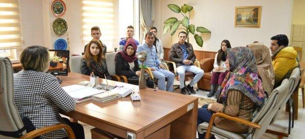 Gençlerden AFAD'a Ziyaret