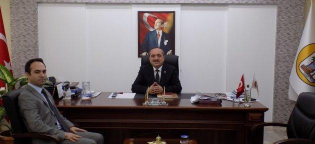 Genel Sekreter Açıkgöz'den, Başkan Uzun'a Ziyaret