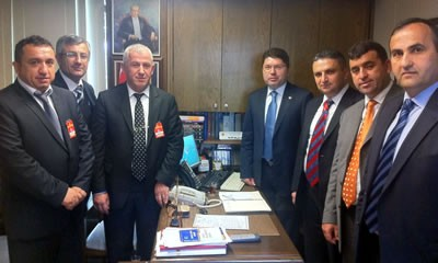 GMİS'ten Tunç'a ziyaret