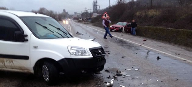 Gürgenpınarı'nda Kaza: 1 Yaralı
