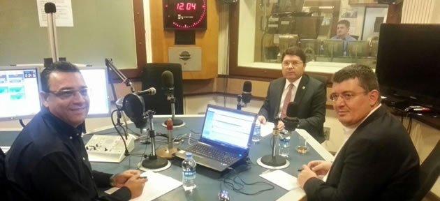 Güvenlik Paketini TRT Radyo 1'de Anlattı