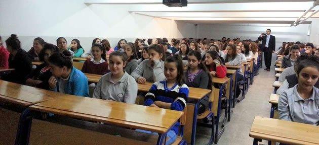 Halk Sağlığı Müdürlüğü'nden Okullara Eğitim