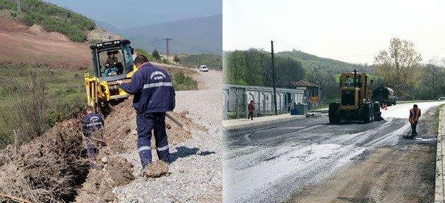 Halkın yol ve su ihtiyacına çözüm