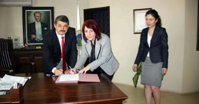 Hamam Sokak'ta Park düzenlemesi için protokol imzalandı
