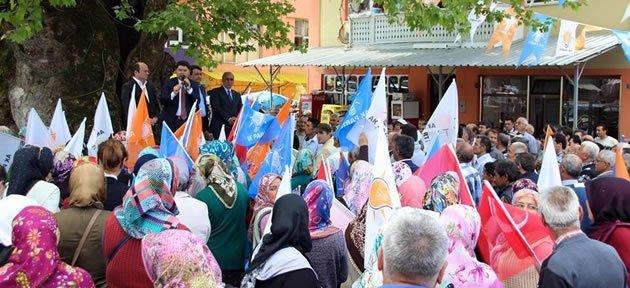 Hasankadı'da Ak Parti Rüzgarı