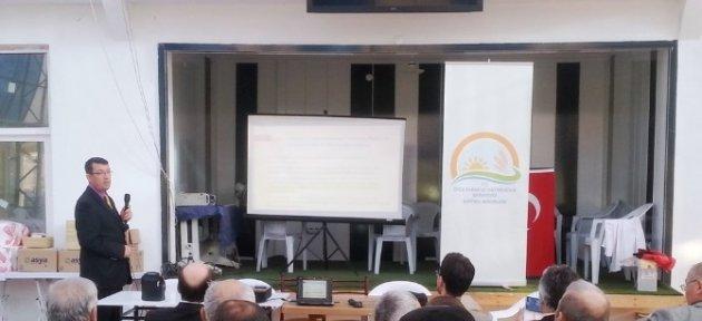 Hasankadı'da Destekleme Tanıtım Toplantısı Yapıldı