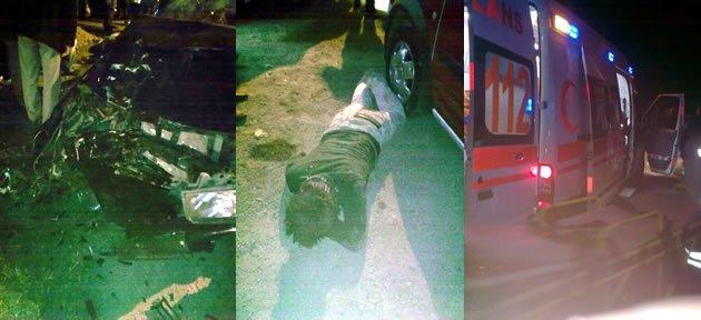 Hasankadı'da Feci Kaza: 1'i Ağır 2 Yaralı