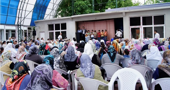 Hasankadı'da Kur'an okuma yarışması
