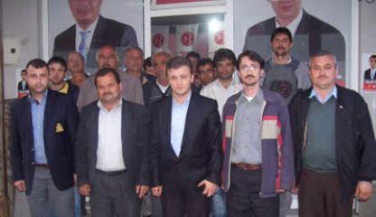 Hasankadı'da MHP'ye yoğun ilgi