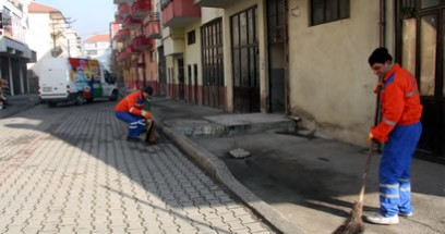 Her mahalleye ayrı temizlik ekibi