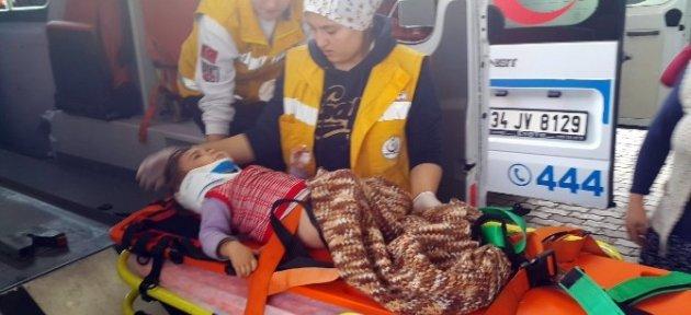İki Yaşındaki Ece Beşinci Kattan Düştü