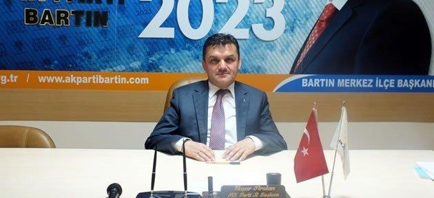 İl Başkanı Arslan, Aday Olmayacağını Açıkladı