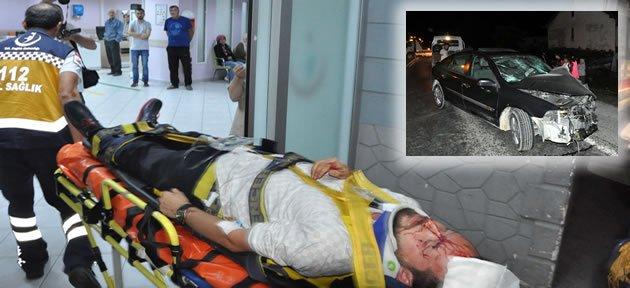 İnkum Yolunda Feci Kaza: 6 Yaralı