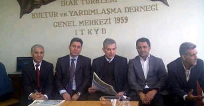 Irak Türkleri'yle bayramlaştı