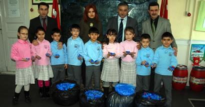 İstiklal İlköğretim Okulu'ndan Altın Eller'e destek