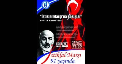 İstiklal Marşı'na Bakışlar konferansı