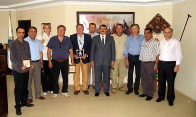 İtalya Castelnuova Bormida Belediye Başkanı'ndan ziyaret