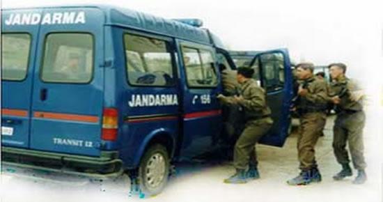 Jandarma'dan KOCATEPE-04 operasyonu