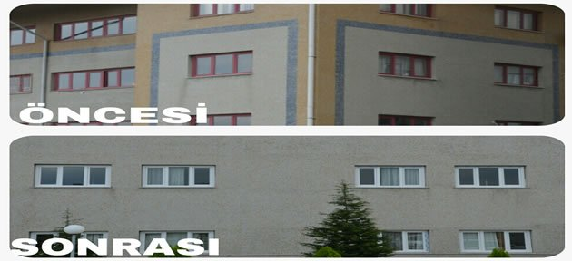 Kadın Doğum Hastanesi'nin Pencereleri Yenilendi