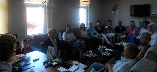 Kadın Girişimcilerden Ak Parti'ye Ziyaret