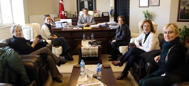 Kadın Girişimcilerden Başkan'a ziyaret