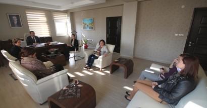 Kadın Girişimcilerden Öksüz'e ziyaret