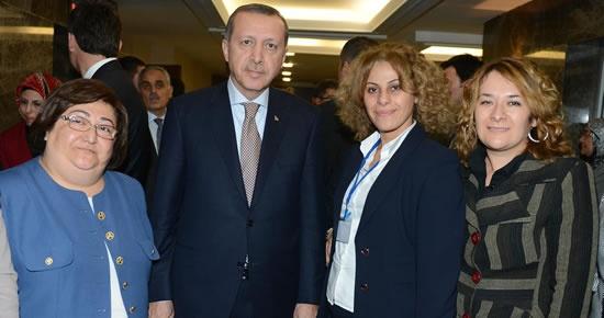Kadın Kolları Başbakan ile görüştü