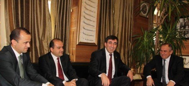 Kalkınma Bakanı Cevdet Yılmaz Bolu'da