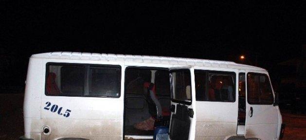 Kamyondan Mazot Çalan Hırsızlar Polis Tarafından Suçüstü Yapıldı