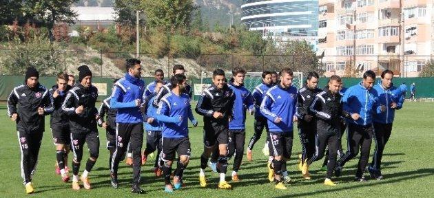 Karabükspor'da, Galatasaray Maçı Hazırlıkları Sürüyor