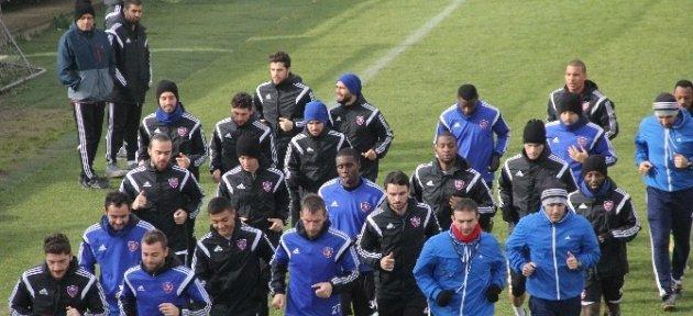 Karabükspor'da Kupa Hazırlıkları