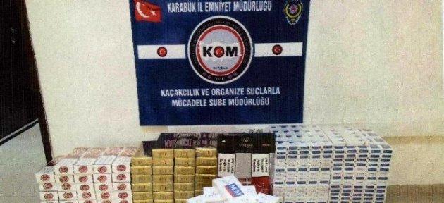 Gümrük Kaçağı 2 Bin 501 Paket Sigara Ele Geçirildi
