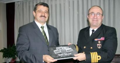Karadeniz Bölge Komutanı Enç'ten Başkan'a ziyaret