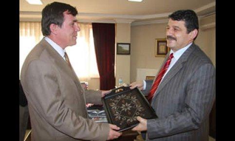 Karayolları 15.Bölge Müdürü'nden Başkan'a ziyaret