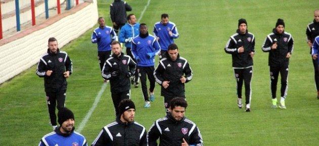 Kardemir Karabükspor'da Gençlerbirliği Maçı Hazırlıkları Başladı