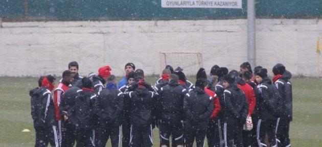 Kardemir Karabükspor'da Kupa Maçı Hazırlıkları