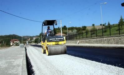 Kavallar'da asfalt çalışması başladı