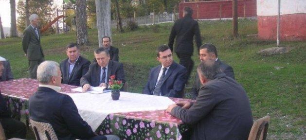 Kaymakam Serkan Keçeli'den Köy Ziyaretleri