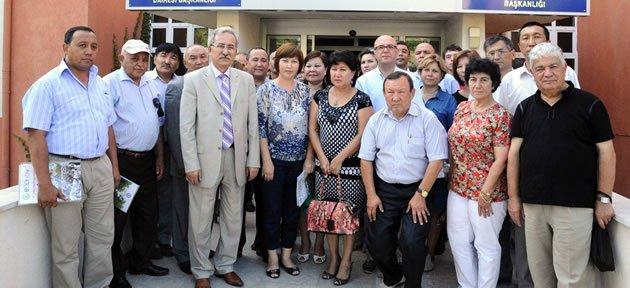 Kazak Akademisyenler Bartın Üniversitesi'nde