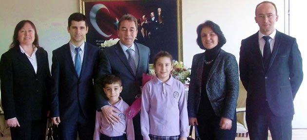 Kemal-Sabriye Ocakçı'dan Hoş Geldin Ziyareti