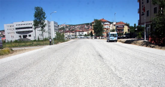 Kemerköprü Mahallesi arka sokakları asfaltlandı
