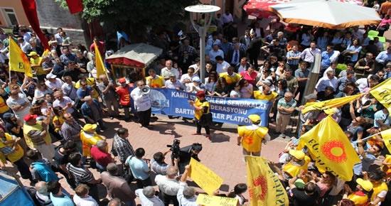 KESK'ten grev eylemi