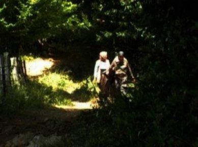 Kestane toplarken kaybolan kadınlar 7 saat sonra bulundu