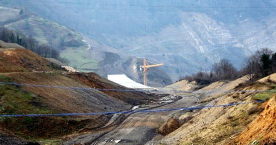 Kirazlıköprü Barajı'nın %57'si tamam, yeniden ihaleye çıkılacak