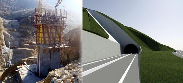 Kirazlıköprü tüneli 2013 yatırım programında