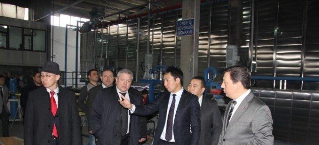 Kırgız Heyet, Bartınlı Sanayicileri Ziyaret Etti
