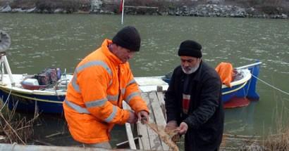 Kış balıkçıları vurdu
